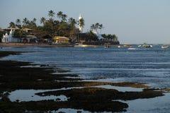 Прая делает сильную сторону - Бахю, Бразилию Стоковые Изображения RF