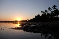 Прая делает сильную сторону - Бахю, Бразилию Стоковые Изображения