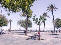 Прая Playa пляжа стоковая фотография