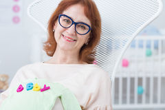 Превидение для младенца Стоковое Фото