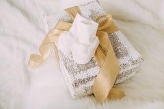 Превидение для приходя младенца на времени рождества Стоковое Изображение