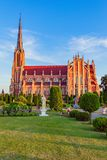 Превосходная красивая церковь святой троицы в Gervyaty, Беларуси Стоковые Изображения