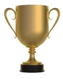 Превосходная чашка золота Стоковые Фото