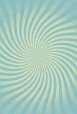 Превосходное завихрянное солнце излучает винтажным предпосылку обрамленную grunge Стоковое Изображение RF
