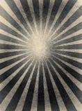 Превосходное солнце излучает винтажным предпосылку обрамленную grunge Стоковое фото RF