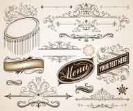 Превосходные декоративные рамки Стоковое Фото