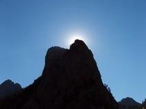 преградите солнце Стоковое Изображение