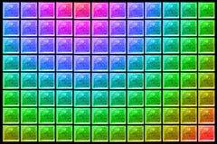 преградите стеклянную стену Стоковые Фотографии RF