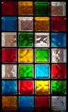 преграждает декоративное стекло Стоковая Фотография RF