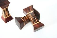 преграждает декоративную древесину Стоковое Изображение