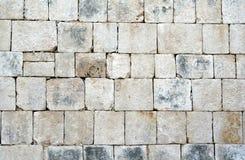 преграждает майяский камень Стоковое Фото