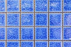 преграждает голубое стекло цвета Стоковое Изображение