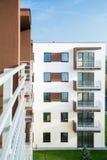 преградите взгляд вертикали квартир Стоковая Фотография RF