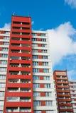 преградите взгляд вертикали квартир Стоковое фото RF
