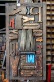 преградите деревянное стоковые изображения rf
