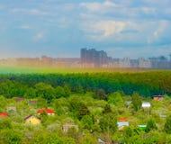 предварительная стойка города Стоковые Изображения RF