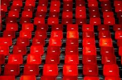 предводительствует красный цвет Стоковое Изображение