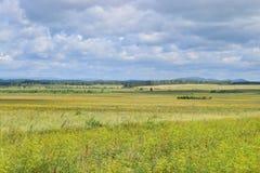 Предгорья гор Bashkir Ural Стоковые Изображения RF