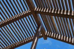 Предкрылки и лучи к небу стоковое изображение