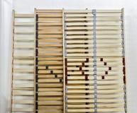 Предкрылки кровати стоковое изображение