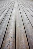 Предкрылки пола деревянные для на открытом воздухе пользы с космосом экземпляра стоковое изображение rf