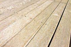 Предкрылки пола деревянные для на открытом воздухе пользы стоковая фотография rf