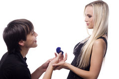 предложение замужества Стоковое фото RF