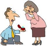 предложение замужества Стоковое Изображение RF