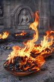 предложение пламени Стоковое Изображение RF