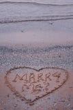 предложение пляжа Стоковое Изображение RF