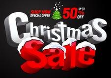 Предложение продажи рождества особенное бесплатная иллюстрация