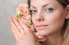 предложение роз портрета Стоковое Фото