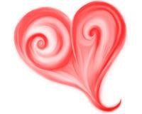 предложение сердца фантазии красное Стоковая Фотография RF