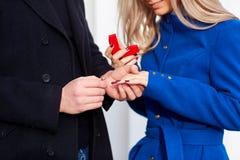 Предложите замужества стоковое изображение