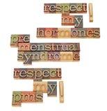 предменструальный синдром Стоковое Изображение RF