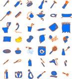 предметы ванной комнаты бесплатная иллюстрация