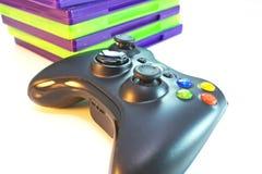Предметы первой необходимости видеоигры Стоковые Фотографии RF