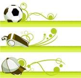 предмет футбола Иллюстрация штока