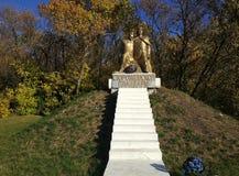 Предмостье Storozhevskaya ` памятника ` стоковая фотография rf