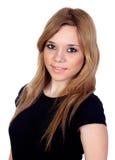 Предназначенная для подростков воинственно настроенный девушка Стоковое Изображение