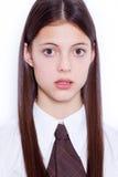 Предназначенная для подростков девушка школы стоковые фотографии rf