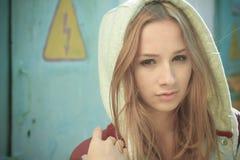Предназначенная для подростков девушка Стоковые Изображения RF
