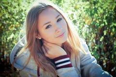 Предназначенная для подростков девушка Стоковые Изображения