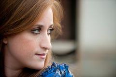 предназначенное для подростков девушки довольно redheaded Стоковые Фото
