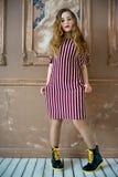 предназначенное для подростков девушки модельное Стоковая Фотография RF