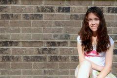 предназначенное для подростков подавленной девушки унылое стоковые изображения rf