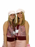 предназначенные для подростков близнецы стоковые изображения rf