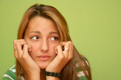 предназначенный для подростков интересовать Стоковая Фотография RF