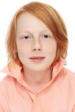 Предназначенный для подростков мальчик Стоковое фото RF