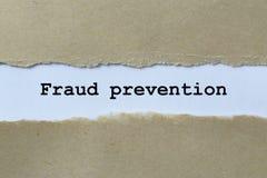 Предотвращение мошенничества стоковое изображение rf